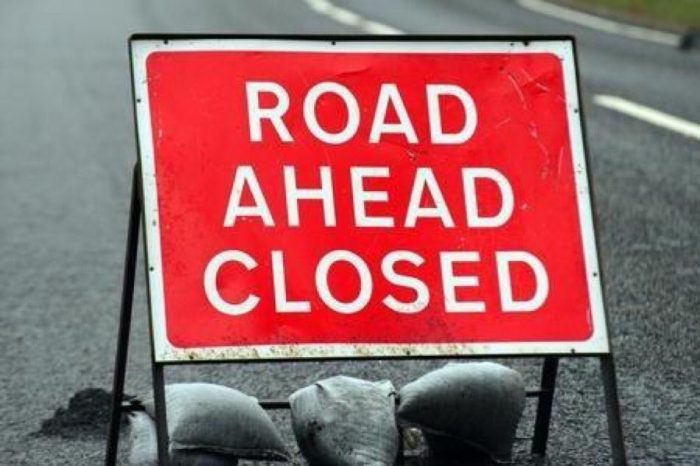 Emergency road closure for Station Street