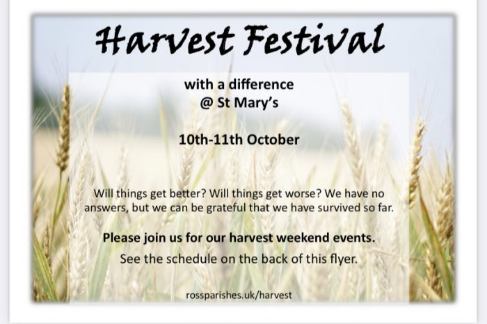 Harvest Festival Weekend at St Mary's Church