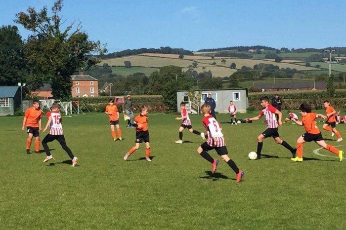Long awaited return to league action for U12 boys
