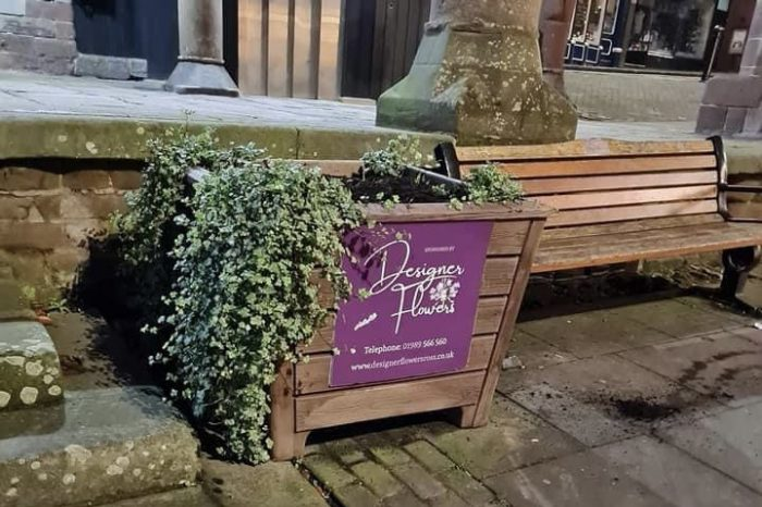 Christmas tree stolen from Market Place