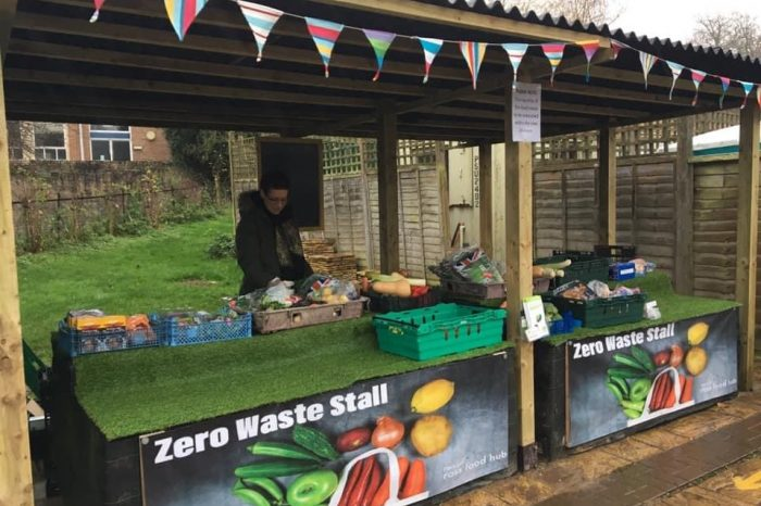 Zero Waste Stall launches in Ross-on-Wye