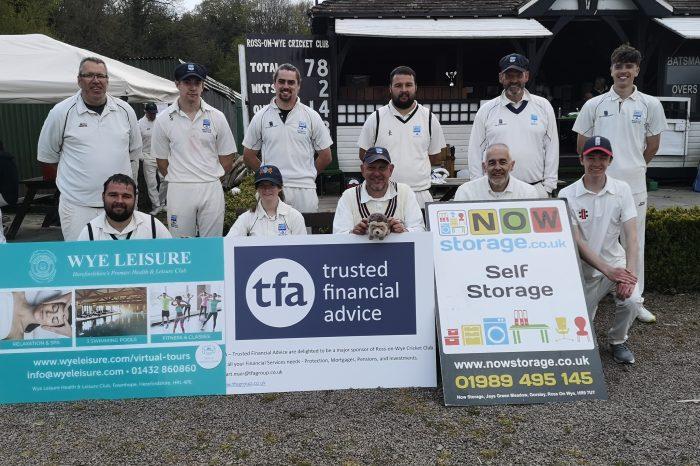 Double winning start to season for Ross Cricket Club