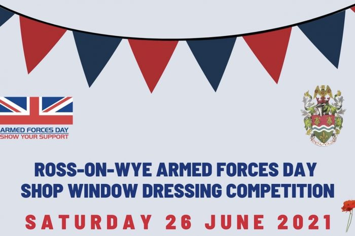 Armed Forces Day window dressing competition