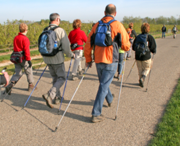 Ross-on-Wye's first ever Nordic Walking classes