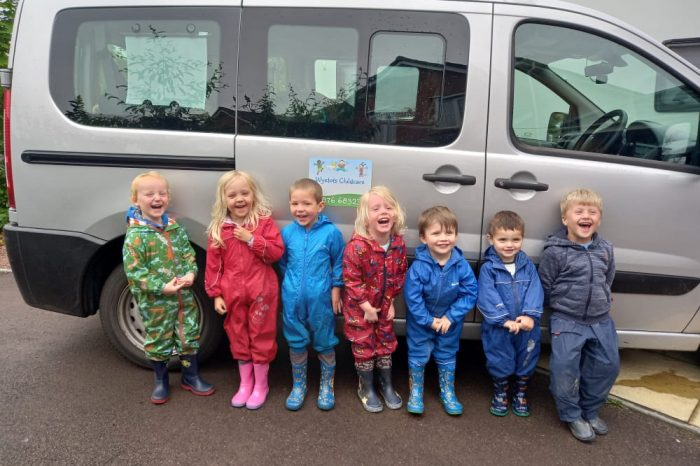 The 'Big Toddle' raises funds for Barnardo's