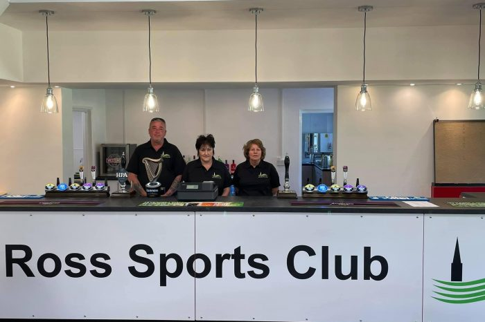 Ross Sports Centre reopens following flood damage