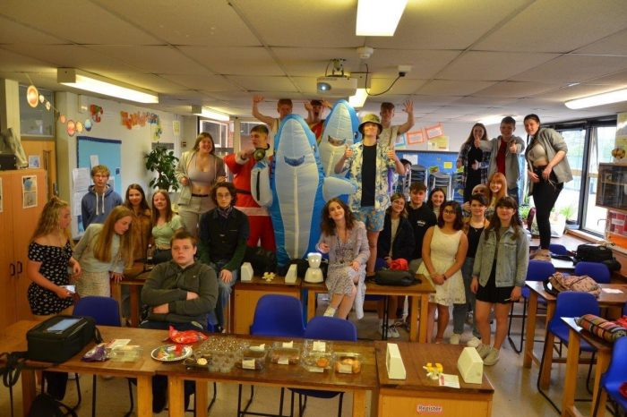 Year 11 students finish the year at John Kyrle in style