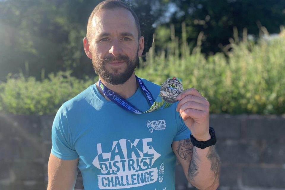 Tackling 'brutal terrain' to raise funds for charity