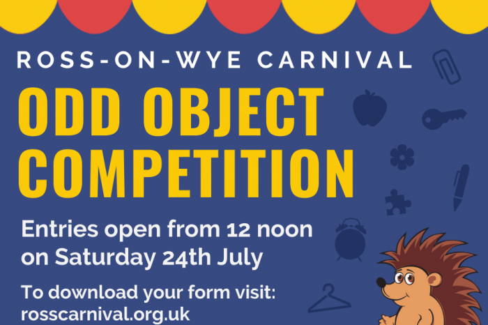 Odd Object competition starts this weekend