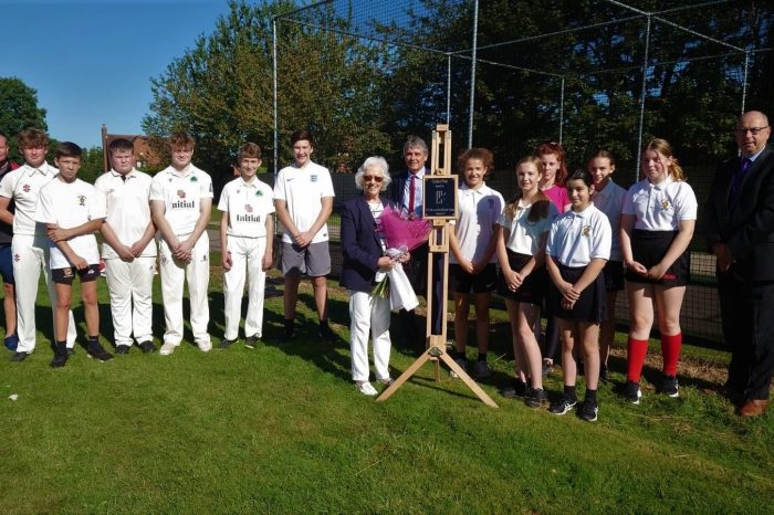 Cricket facilities given facelift thanks to generous support from charity