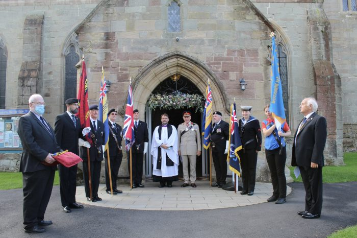 Special service to commemorate 100 years of the Ross and District Branch of the Royal British Legion